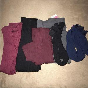 Accessories - Bundle of opaque medium/large tights